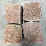 Porfido cubetti granito manga